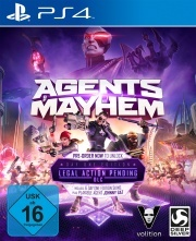 Agents of Mayhem Day One Edition (PS4) Englisch