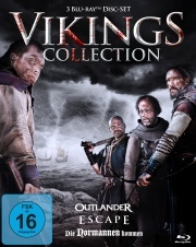 Vikings Collection - Die Wikinger kommen (3 Blu-rays)