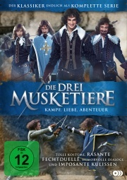 Die Drei Musketiere - Kampf, Liebe, Abenteuer (3 DVDs)