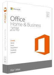 Office Mac Home and Business 2016 (DE)
