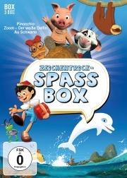Die große Zeichentrickspaß-Box (3 DVDs)