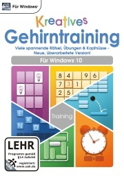 Kreatives Gehirntraining für Windows 10 (PC)