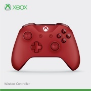 Xbox One Branded Wireless Controller Mid-red/Dark-red