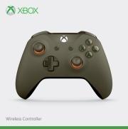 Xbox One Branded Wireless Controller Military Green/Orange