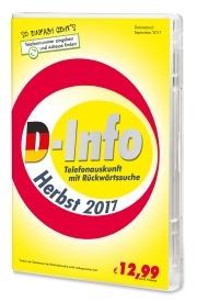 D-Info mit Rückwärtssuche Herbst 2017