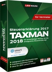 TAXMAN 2018 für Vermieter