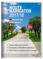 RouteNavigator DACH 2017/18