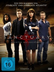 Sanctuary - Wächter der Kreaturen, Staffel 2 (4 DVDs)