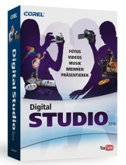 Digital Studio 2010 4 in 1 Multimedia Suite DE ML
