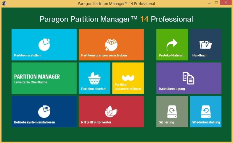 Partition Manager 14 Professional