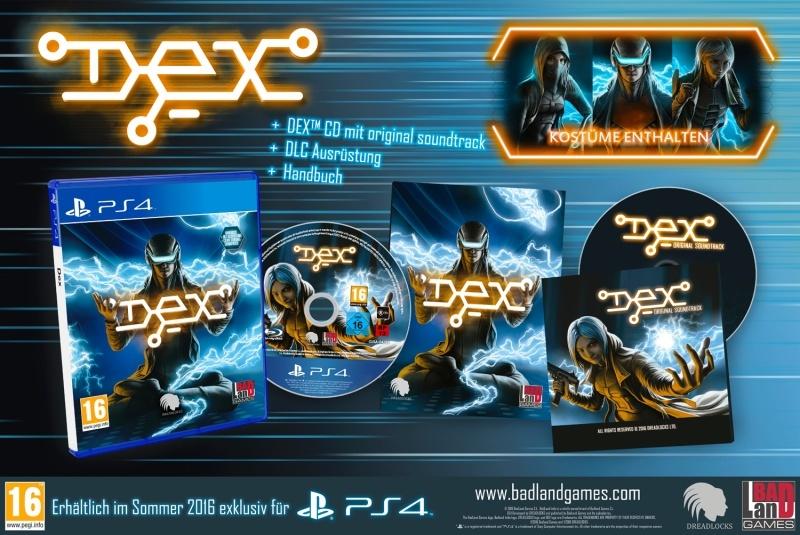Dex (PS4) Englisch