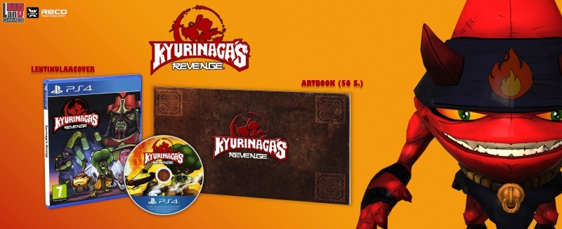 Kyurinaga's Revenge (PS4) Englisch