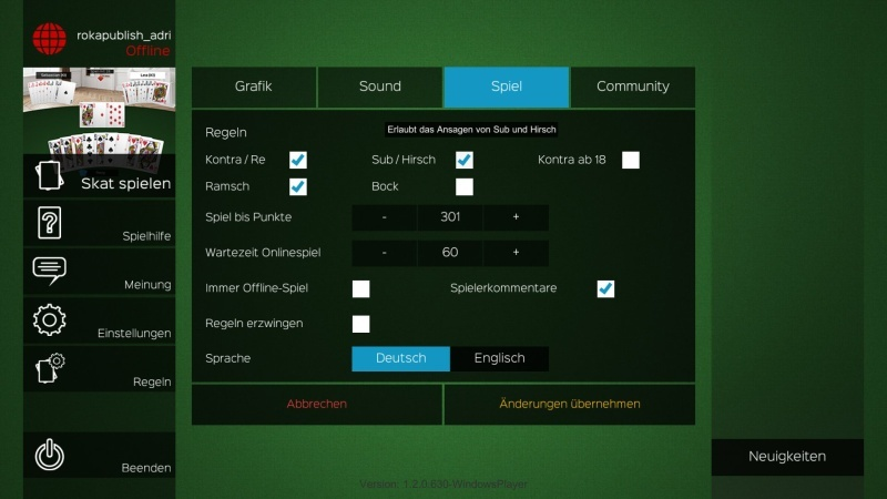 Skat Stammtisch 2.0 (PC)