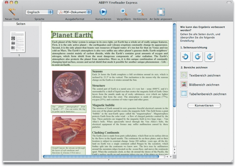 FineReader Express Edition for Mac